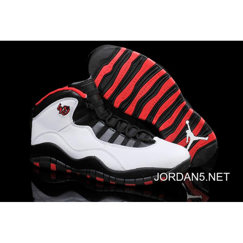 1ed493f0b94535 ... switzerland air jordan 10 retro chicago 45 pe white varsity red black  top f43d3 abb0d ...