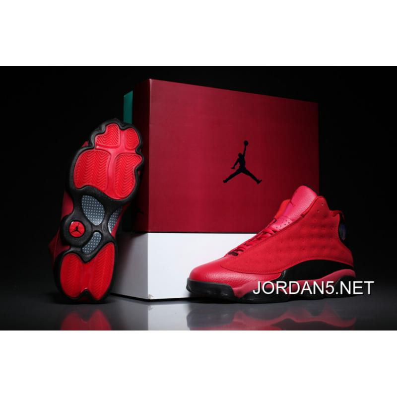 "2d159f25651 Online Air Jordan 13 ""What Is Love"" Gym Red Black ..."
