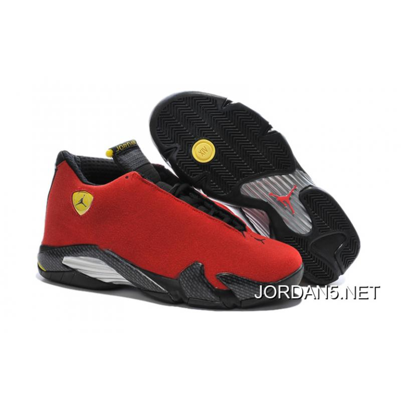 02dbf354a44 ... where to buy air jordan 14 ferrari chilling red black vibrant yellow new  release 6a5d9 f59e0