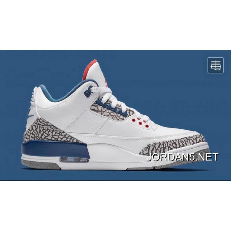 "detailing 6743b 482d6 Air Jordan 3 OG 88 ""True Blue"" New Release"