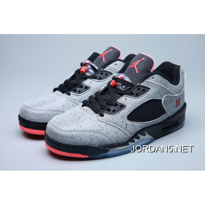 "competitive price d618a ca01c Air Jordan 5 Low ""Neymar"" Reflect Silver/Infrared 23-Black Copuon Code"