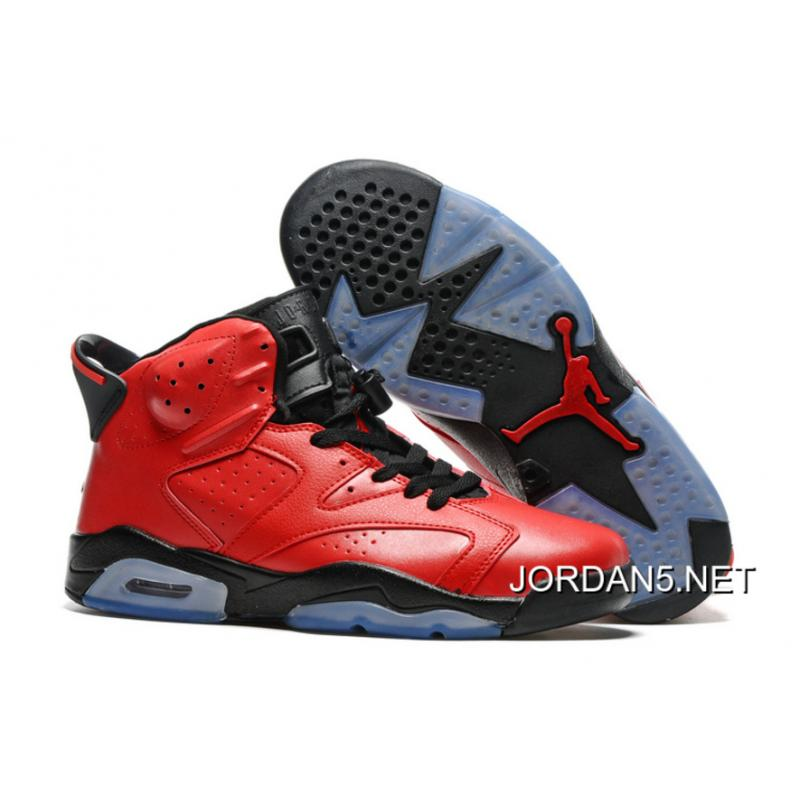 "19498d65c193ab Air Jordan 6 ""Infrared 23″ Infrared 23 Black-Infrared 23 New Release ..."