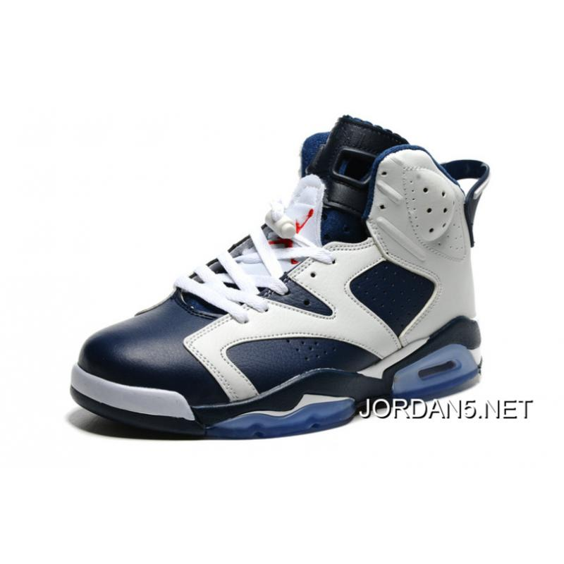 retro 6 white\/midnight navy\/varsity red cross