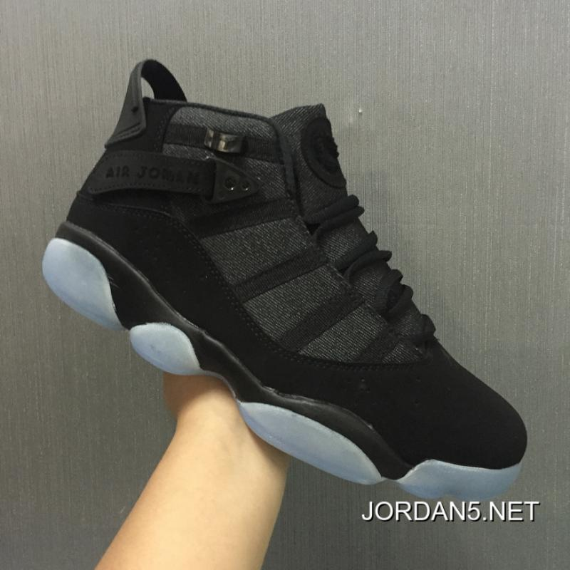 "new arrival d6969 ab714 New Air Jordan 6 Rings ""Black Jade"" For Sale"