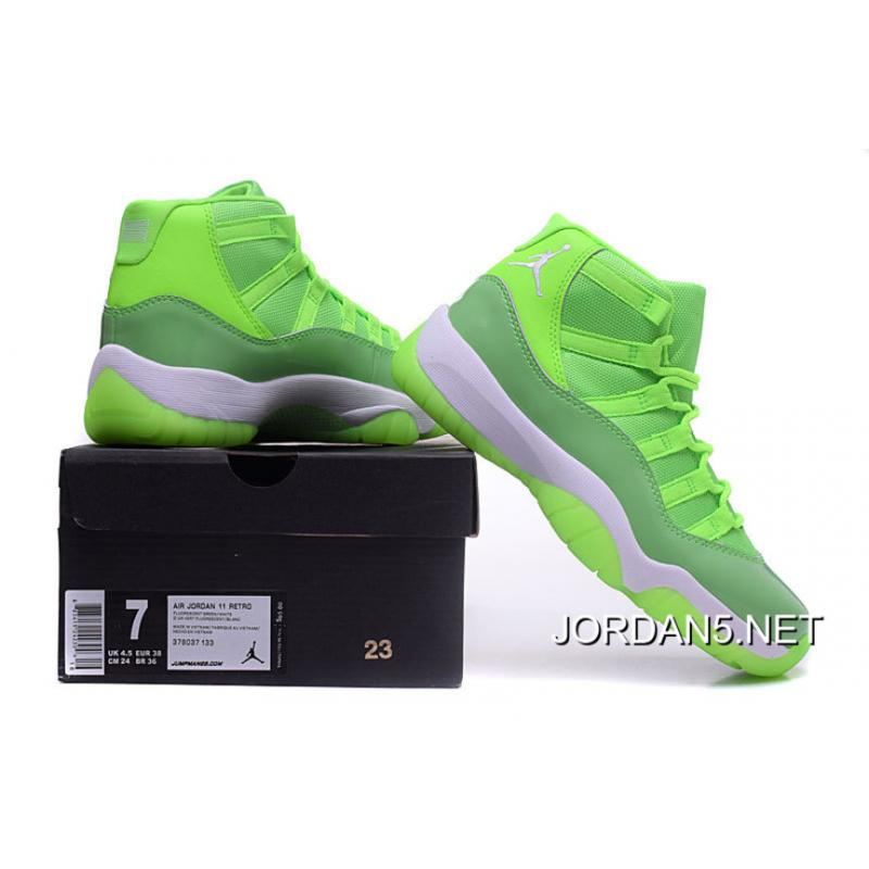 "new product 5a21c 53ccc Air Jordan 11 GS ""Neon Green"" PE Latest ... Nike Jordans ..."