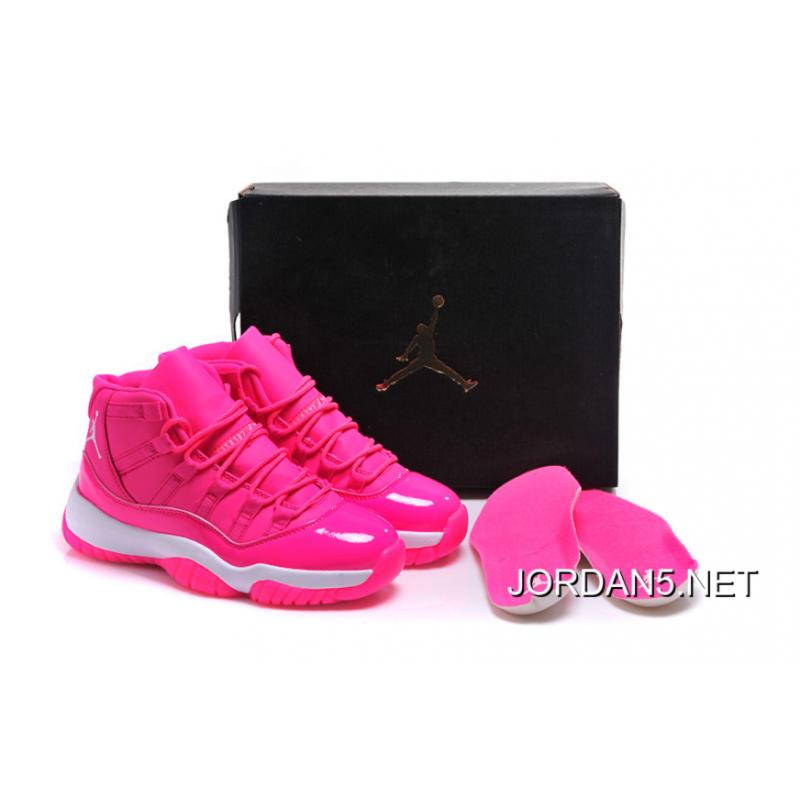 "d3fdc755461 Best Air Jordan 11 GS ""Pink Everything"" Pink White Shoes, Price ..."