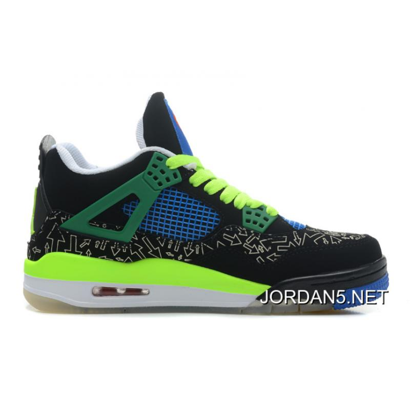 "f81c2ab52355 New Year Deals New Air Jordan 4 Retro Doernbecher ""Superman"" Black Old Royal  ..."