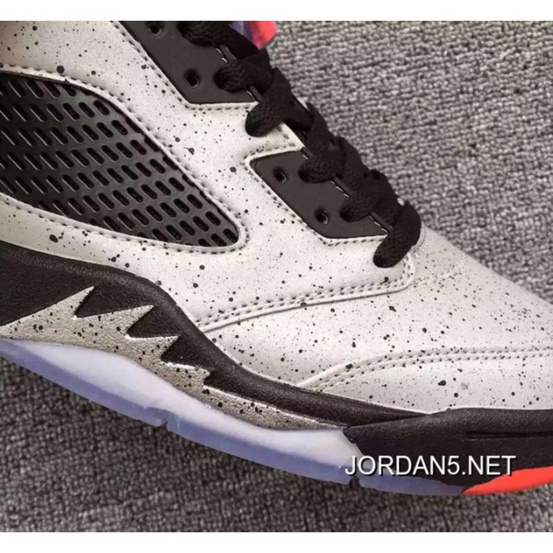 "6ebb9c6d427bab ... Air Jordan 5 Low GS ""Neymar"" Reflect Silver Infrared 23-Black Authentic  ..."