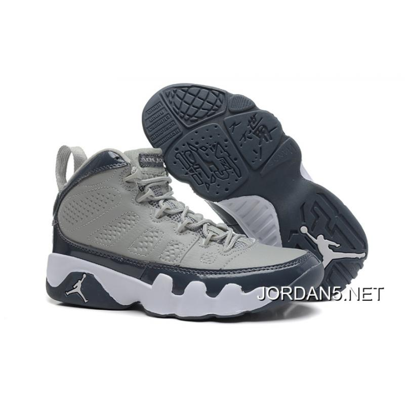 54d815ffe50c1d ... air jordan 9 retro medium grey cool grey white authentic