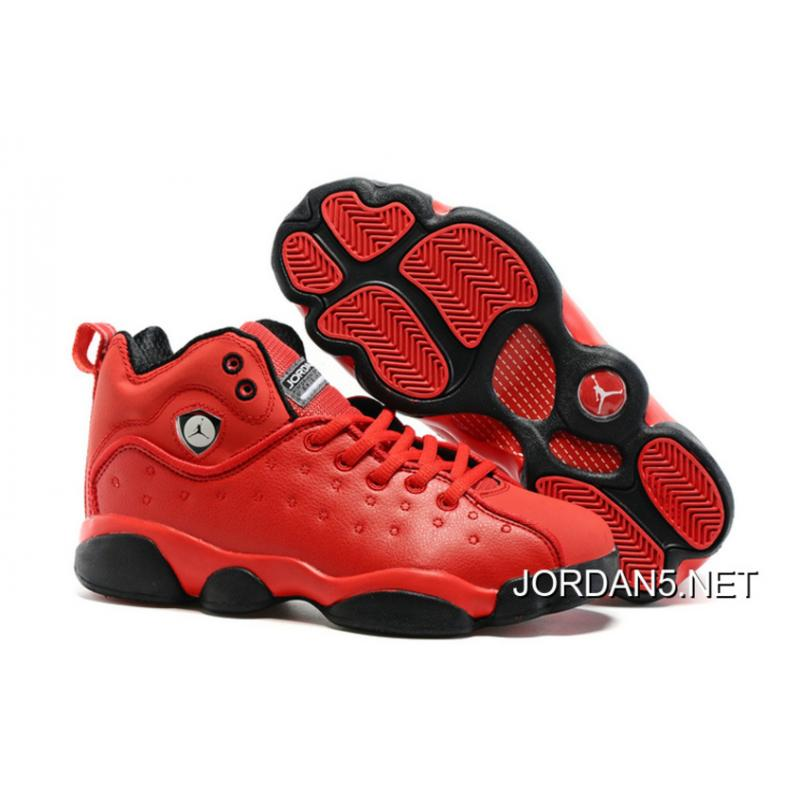 83e215d13abf62 ... promo code for sale new jordan jumpman team 2 gs raging bull all red  91719 b26a2