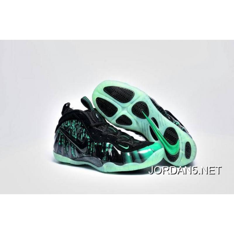 Big Discount Nike Air Foamposite Pro Electric Green Black-White