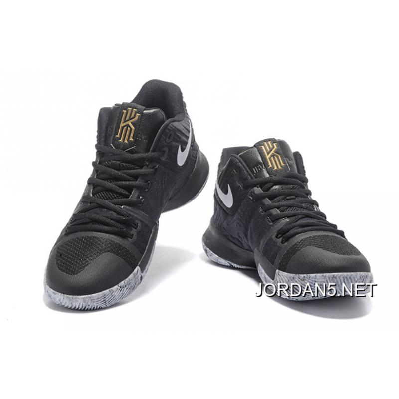 bc46250a085a netherlands outlet girls nike kyrie 3 bhm black white white 5c4e8 bdd72