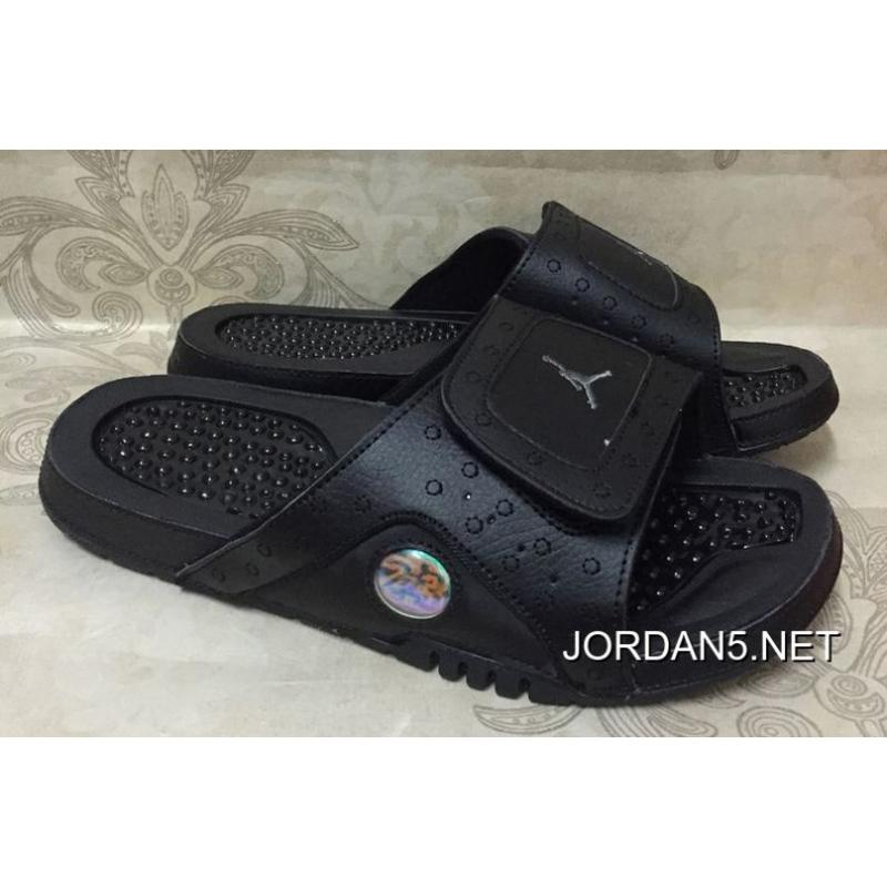 cf56cae12f31 Jordan Hydro 13 Retro Black Anthracite Slide Sandals For Sale ...
