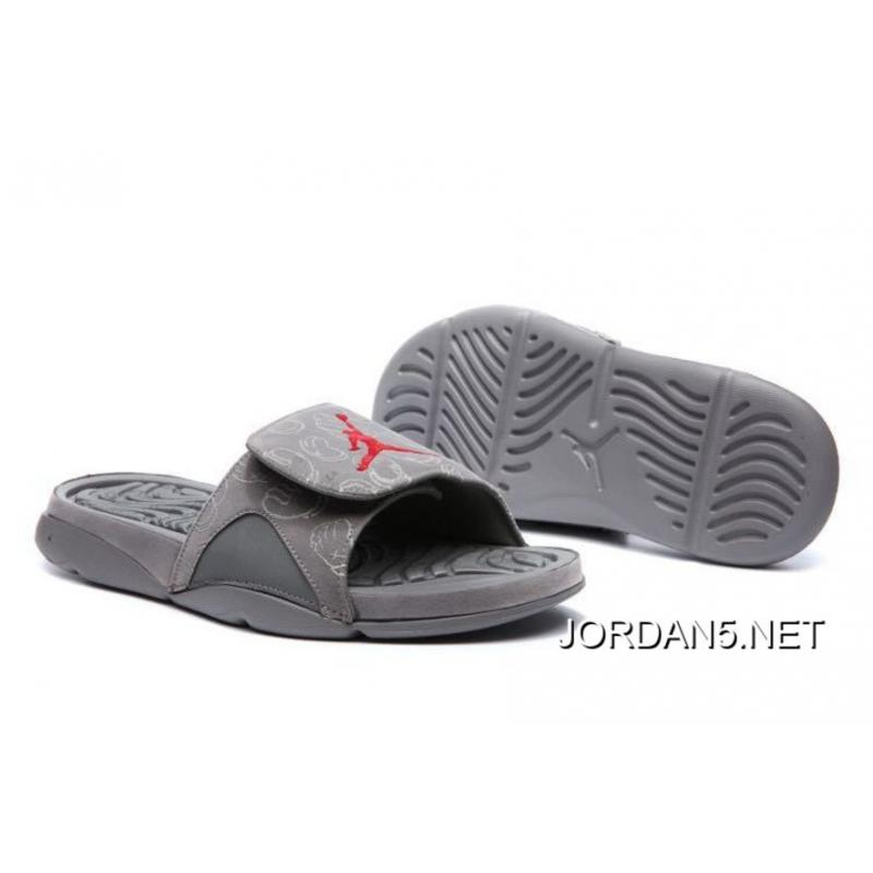 "42cc097687674 KAWS X Air Jordan 4 ""Cool Grey"" Glow In The Dark Slide Sandals Cheap ..."