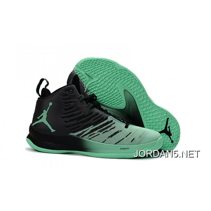 "New Jordan Super.Fly 5 ""Green Glow"" Outlet ..."