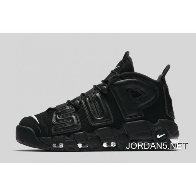 best website c634b 5c904 For Sale Supreme X Nike Air More Uptempo Black-White