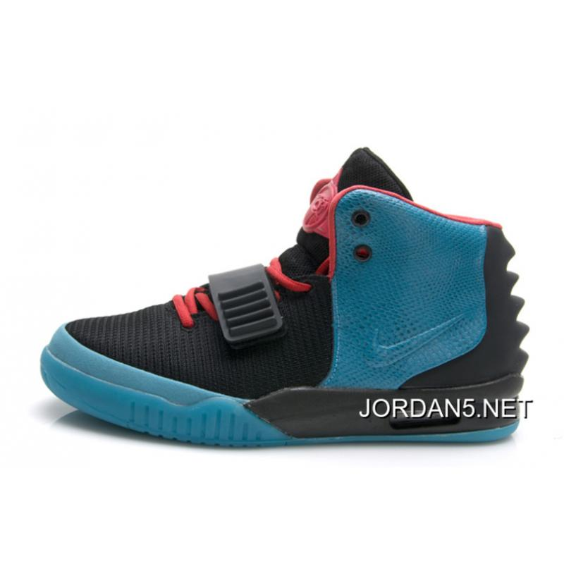 "1208ea65a093b Nike Air Yeezy 2 ""South Beach"" Glow In The Dark Sole Outlet ..."