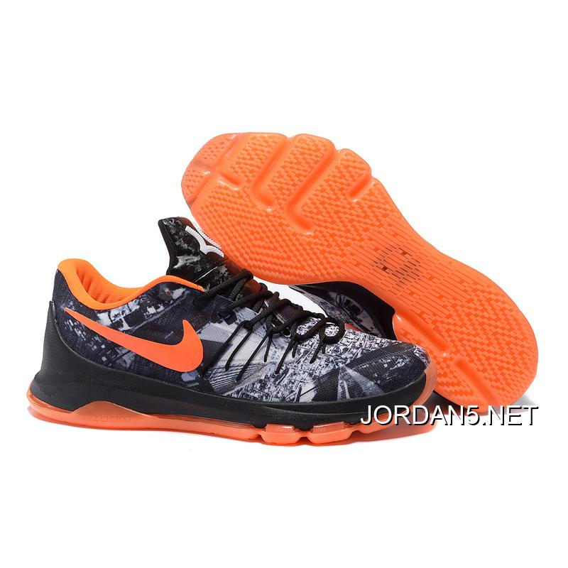 caf1d6608e3 ... low price free shipping kd 8 opening night black white team orange  9ad59 00c95