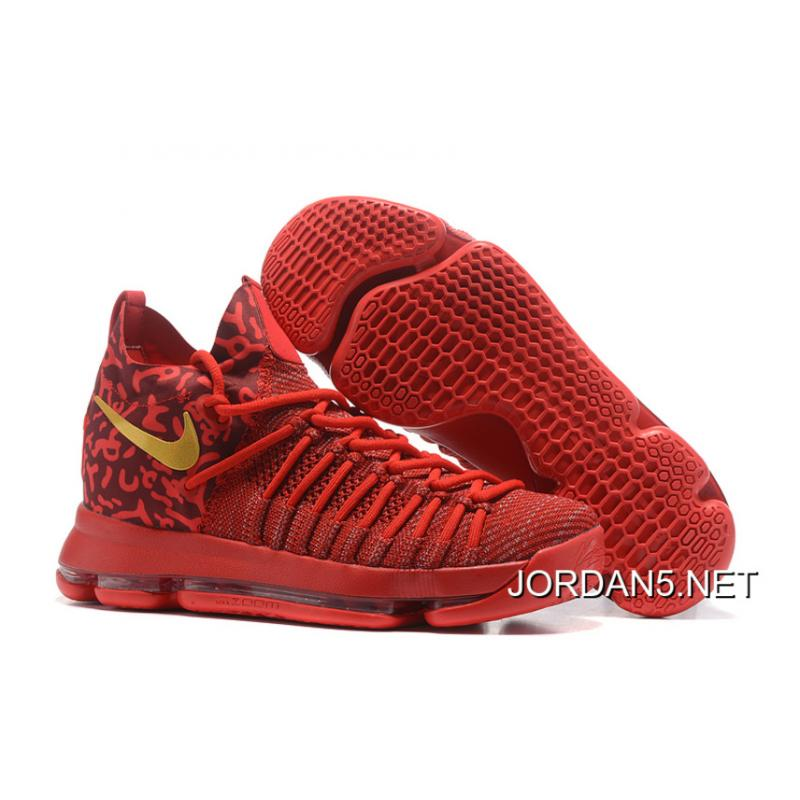 buy online bdada d322f Nike Zoom KD 9 Elite Varsity Red/Gold Online