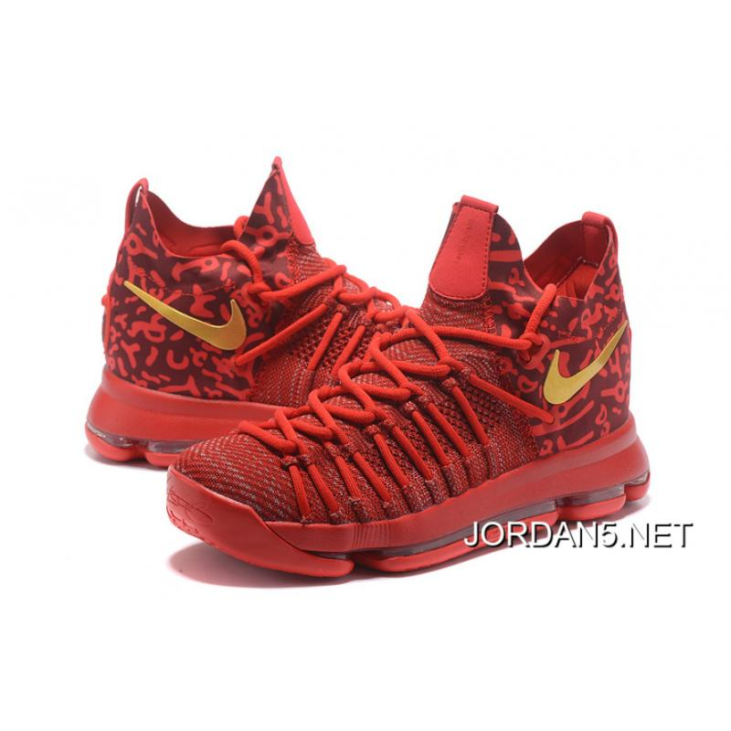 ... 50% off nike zoom kd 9 elite varsity red gold online e2d40 c0c94 8645d341f