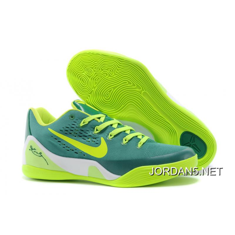 wholesale dealer 6f3c0 90476 Nike Kobe 9 Low EM Green Neon Green Top Deals ...