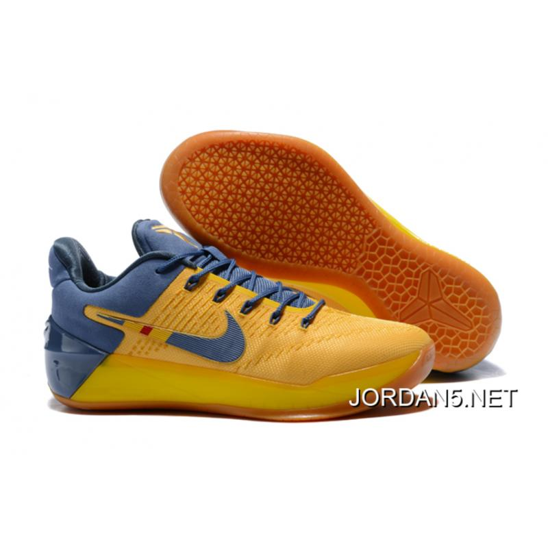 "separation shoes b9699 674a6 Online Nike Kobe A.D. ""Bruce Lee"" Yellow/Navy Blue"