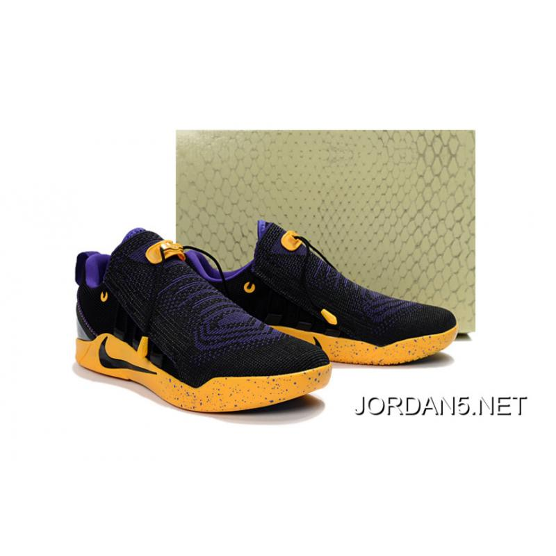 ... Nike Kobe A.D. NXT Black Purple Yellow Latest ...
