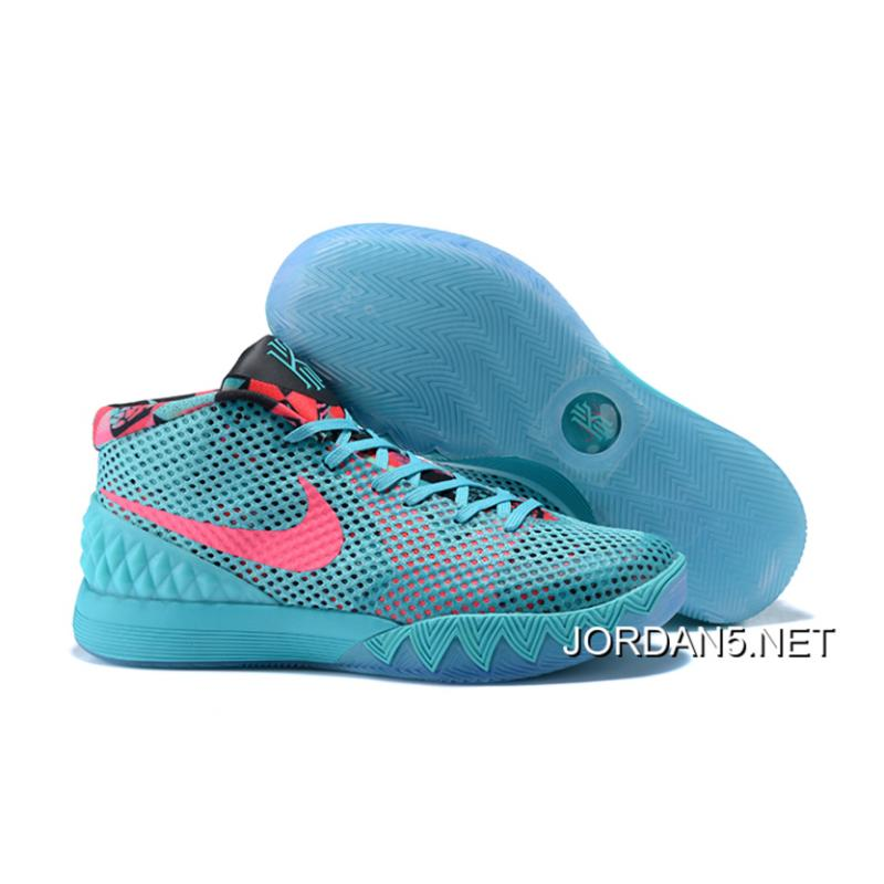 "Nike Kyrie 1 Nike Kyrie 1 ""Christmas"" PE Turquoise Teal/Hyper Pink Discount ..."