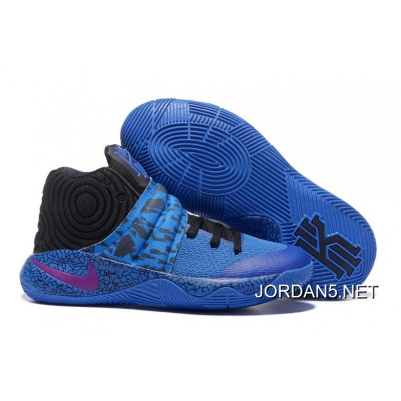 887817cf1629be ... greece free shipping nike kyrie 2 royal blue purple black c3ae8 a1d5d