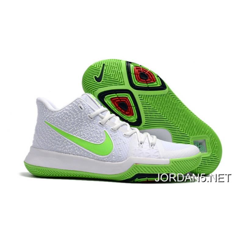 "competitive price 20fce 5ade4 New Release Nike Kyrie 3 ""Mountain Dew"" White Light Green ..."