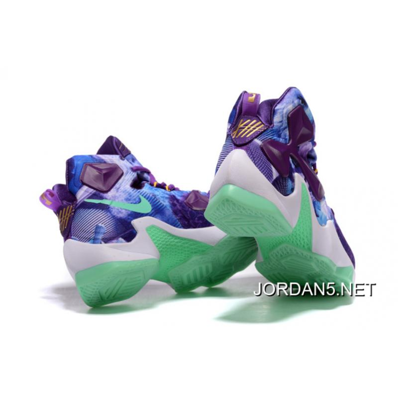 uk availability 792a3 57ee3 ... cheapest nike lebron 13 purple blue shoes outlet defe0 9771a