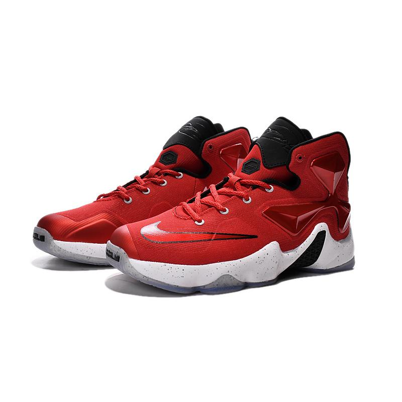 598d4648ddd8 ... Nike Lebron 13 Gym Red Black White Men Basketball Shoes Best ...