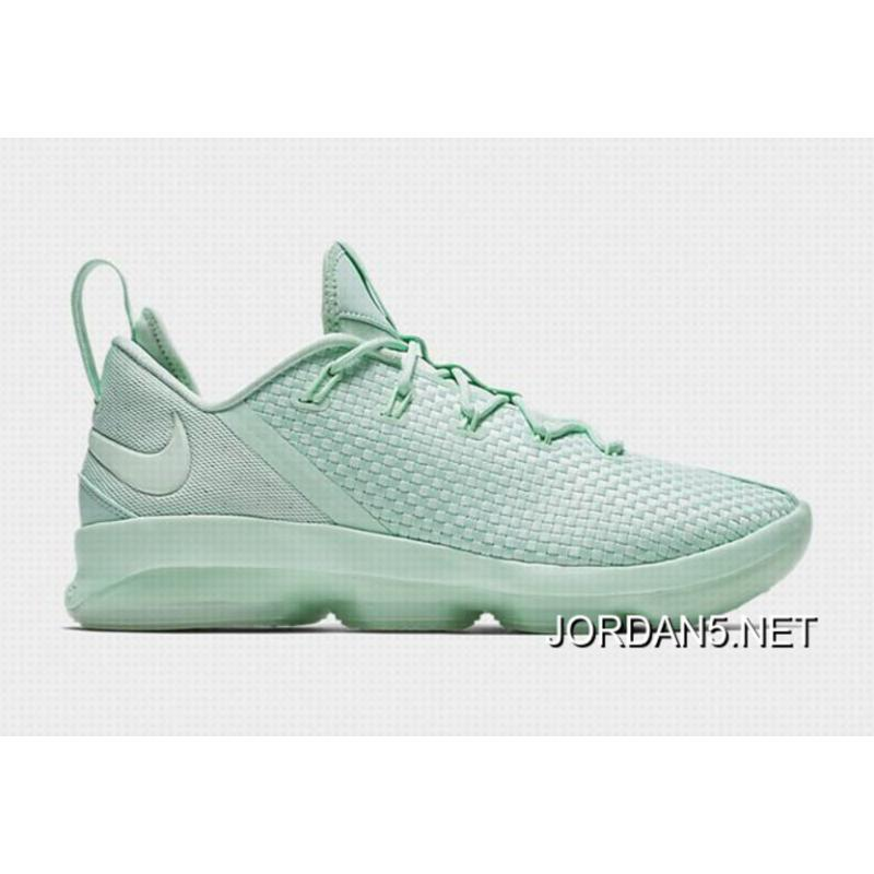 "Free Shipping Nike LeBron 14 Low ""Mint Foam"" 878635-300 ..."