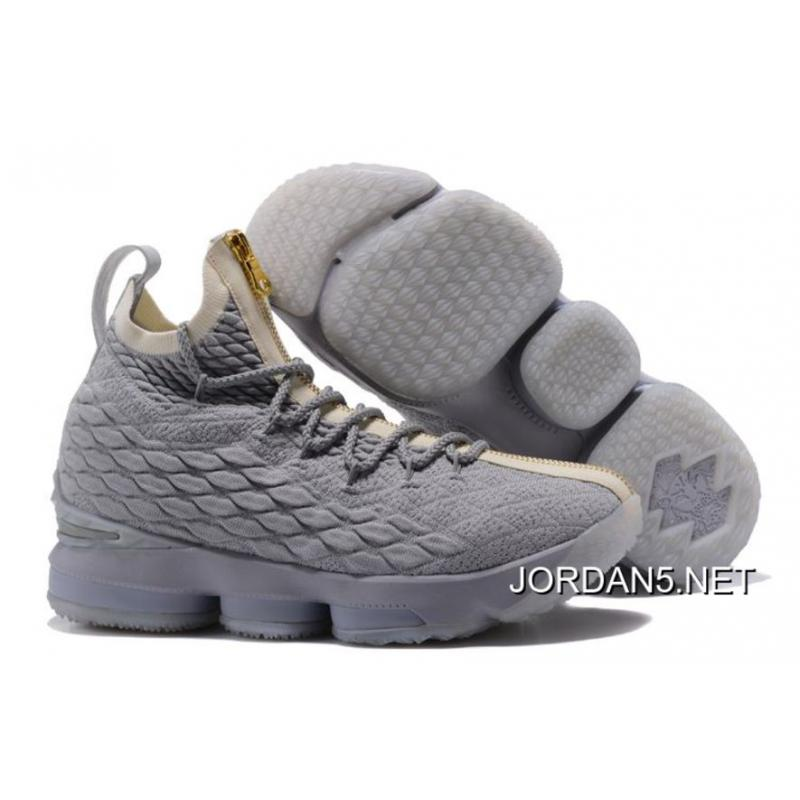 new arrival c908b bc7b6 Nike LeBron 15 Zip Navy Blue/White-Gold Discount