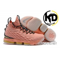 ba027507f6a56 New Year Deals Nike LeBron 15  Hollywood  Rust Pink Gold-Black