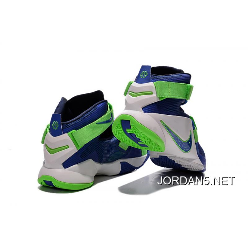 newest 7048e 029fe ... coupon code for discount nike lebron soldier 9 sprite basketball shoe  0e3c1 fd569 ...