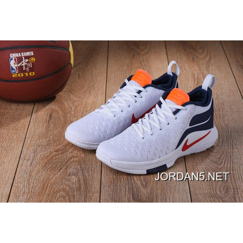 05808c29ffd5 ... new style b0389 84f35  ireland nike lebron witness 2 flyknit white blue  red orange free shipping 21c3c 704b5