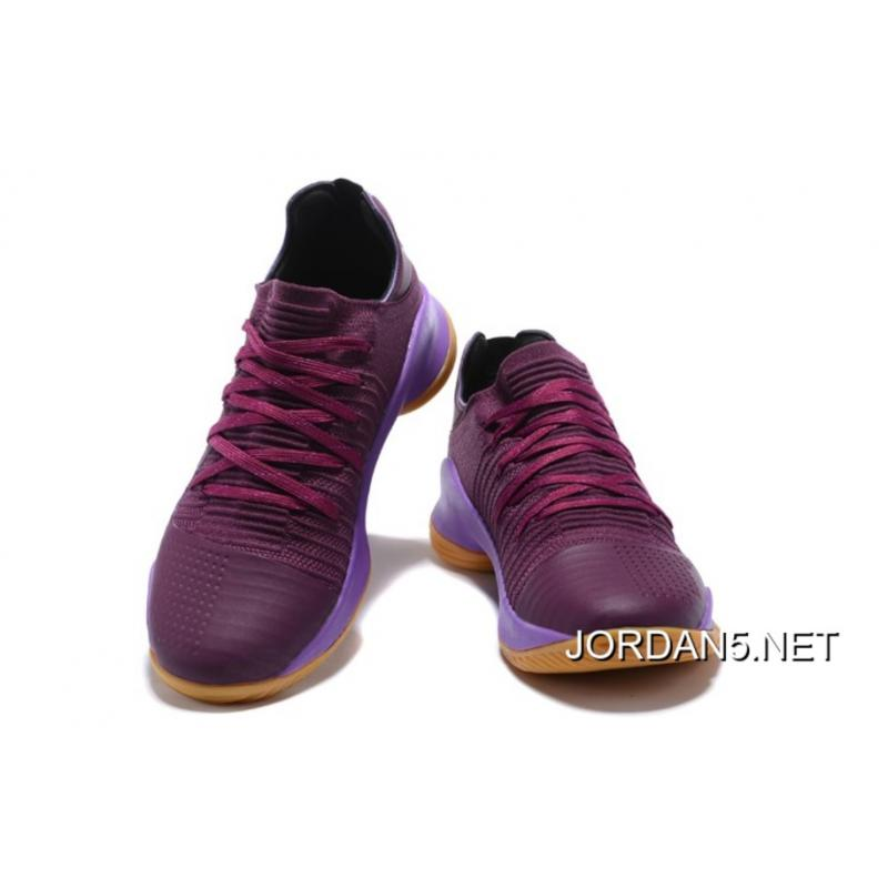 "ddf1dcb932d7 ... Under Armour Curry 4 Low ""Merlot"" Purple Gum Outlet ..."