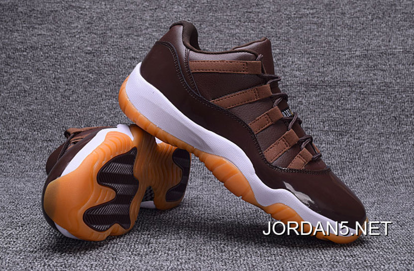 "2d2808d805fc Discount Air Jordan 11 Low ""Brown Gum"" Chocolate"