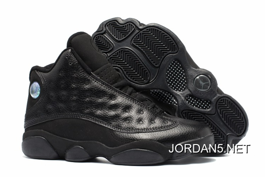 bb461bb8775b Air Jordan 13 Retro All Black Best