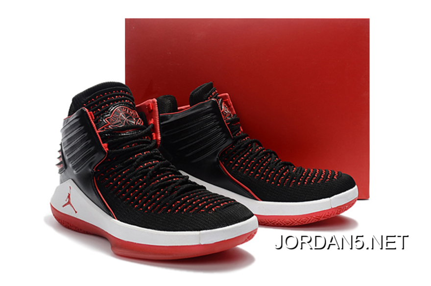 88f0acdfab9 Air Jordan 32 (XXXII) Black Red White Top Deals, Price: $92.65 ...