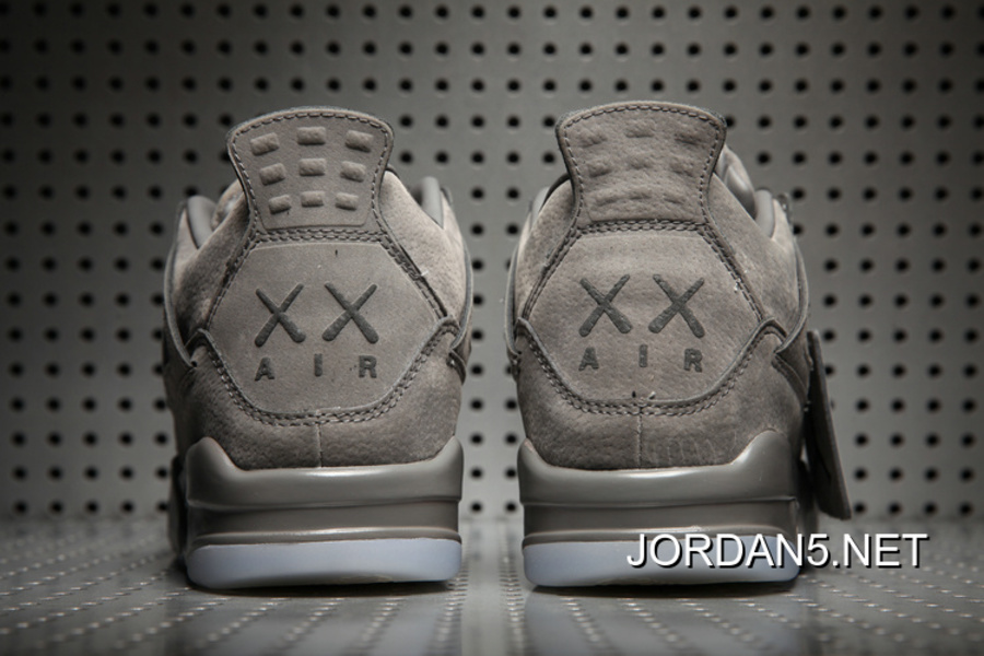 "71790479dead KAWS X Air Jordan 4 ""Cool Grey White"" Glow In The Dark Sole Outlet ..."