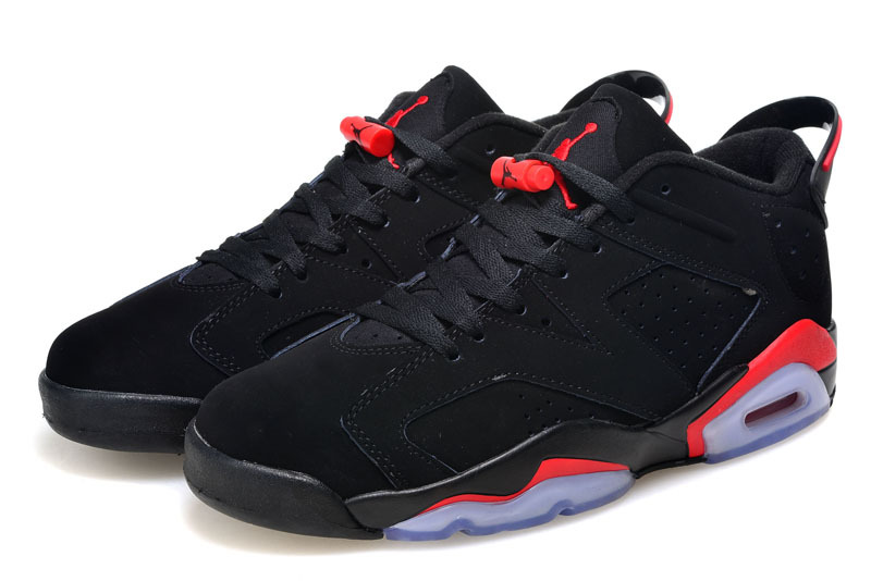 Cheap To Buy Air Jordan 6 Low Black/Infrared 23-Black