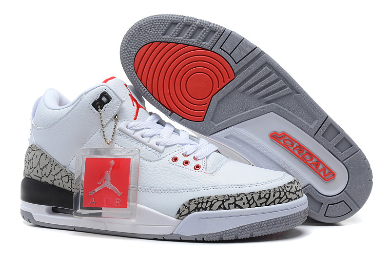 timeless design 41ca4 67801 Copuon New Air Jordan 3 Retro '88 White/Fire Red-Cement Grey-Black