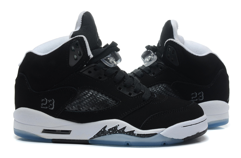 "size 40 49ffb 9135d Super Deals New Air Jordan 5 Retro ""Oreo"" Black/Cool Grey-White"
