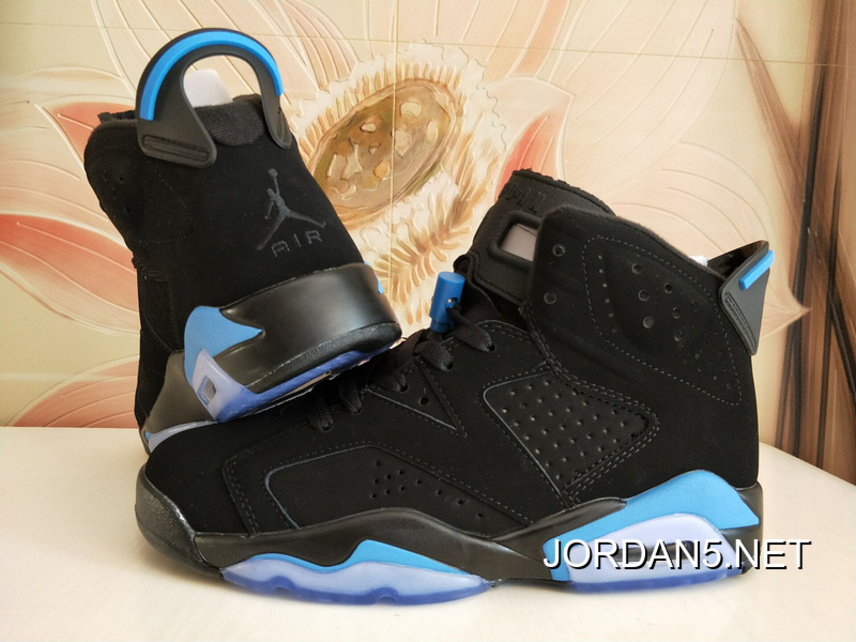 "7a4da6e00f7 Air Jordan 6 GS ""UNC"" Black/University Blue Shoes Top Deals, Price ..."