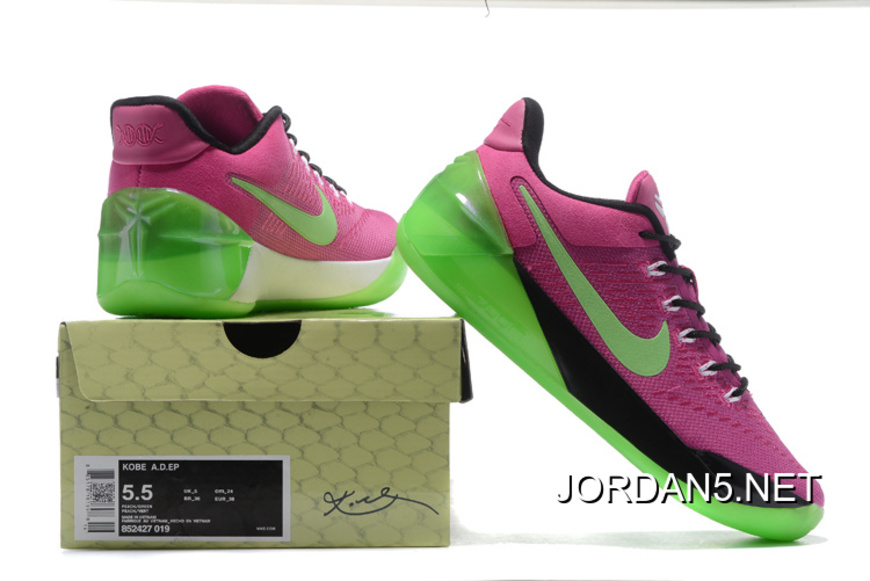 the latest f0c14 e4035 Girls Nike Kobe A.D. Pink Green Black Super Deals