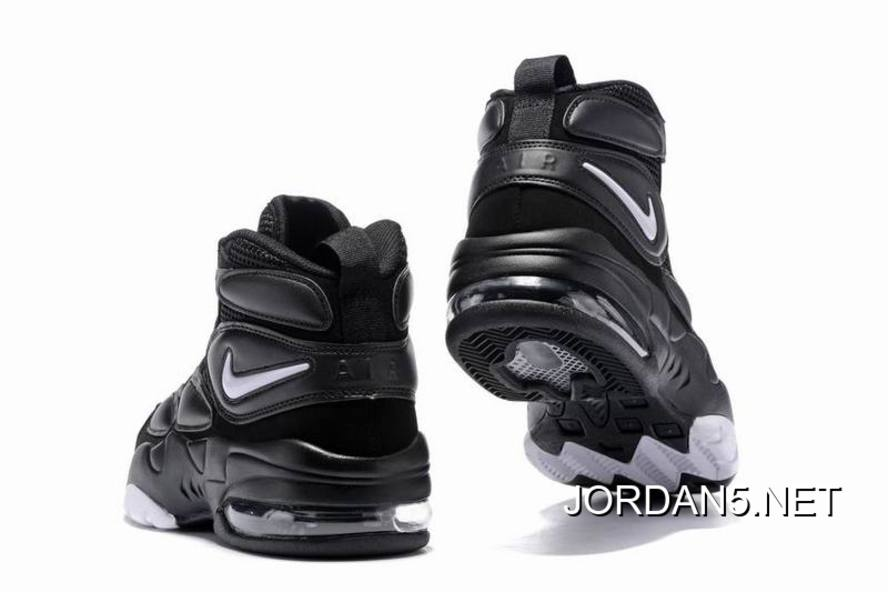 Outlet Nike Air Max Uptempo 2 Black White-Dark Shadow 6ac1f7599