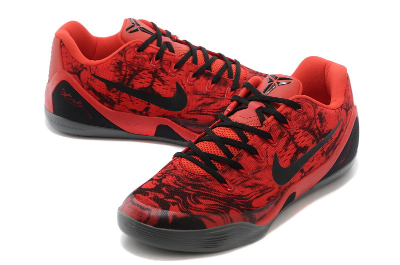 designer fashion e13fe e59c3 ... authentic nike kobe 9 low em xdr red black online new style 633bd 4e1fe