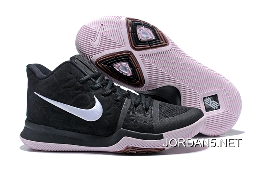 "ee5841757d1 Nike Kyrie 3 ""Silt Red"" Black White Online Best"